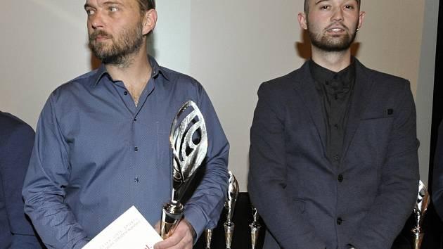 Náhoda loni spojila do jednoho týmu otce (vlevo) a syna Jirky Hrdličkovi. Ojedinělou šanci využili a Blanensko je zařadilo mezi nejúspěšnější týmy okresu za rok 2017.