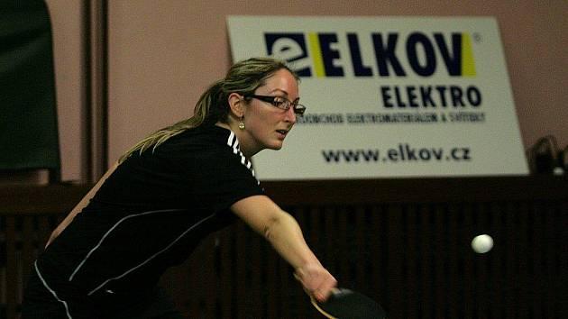Stolní tenistky Blanska prohrály doma s lídrem první ligy SK Dobré 3:7.