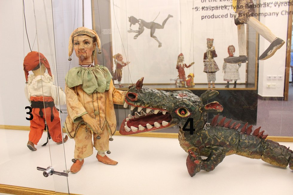 V Muzeu regionu Boskovicka jsou k vidění kašpárci z celého světa.