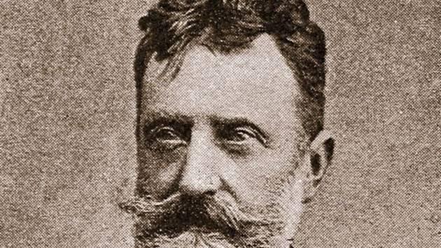 Spisovatel Ferdinand von Saar.