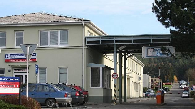 Nemocnice v Blansku.