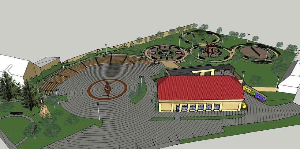 Centrum Bořitova se dočká nového moderního vzhledu.