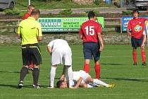 Fotbalisté Boskovic prohráli doma se Spartou Brno 1:3.