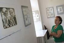 Galerii Kruh v areálu zámku v Rájci-Jestřebí zaplnila díla předních českých grafiků.