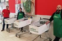 Blanenští se zapojí do potravinové sbírky. Pomohou lidem v nouzi.