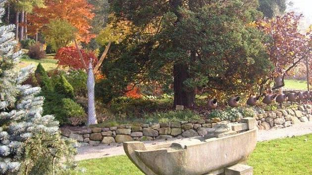 Smyslová zahrada - ilustrační foto.