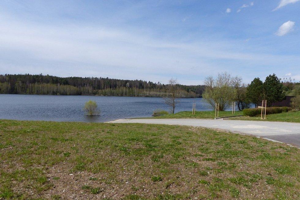 Procházka kolem boskovické přehrady.