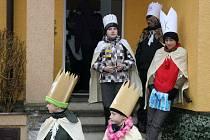 Rudicí v sobotu procházeli koledníci, kteří se zapojili do Tříkrálové sbírky. Tu pořádala Charita České republiky a na Blanensku se k ní přidali ve více než stovce obcí.