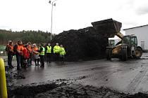 Boskovičtí rozšířili kompostárnu. Nyní zpracuje až 2600 tun bioodpadu za rok.