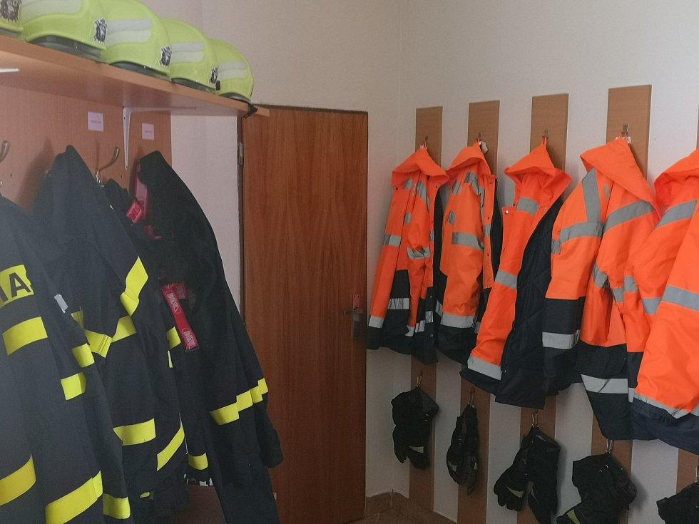Vybavení hasičů.