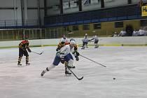 Hokejisté Blanska si připsali za prohru v nájezdech s Uherských Ostrohem třetí bod do tabulky krajské ligy.