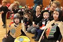 V blanenském Dělnickém domě se v úterý konal masopustní maškarní karneval pro děti.