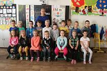 Žáci z třídy 1.A ze Základní školy v Rájci-Jestřebí.