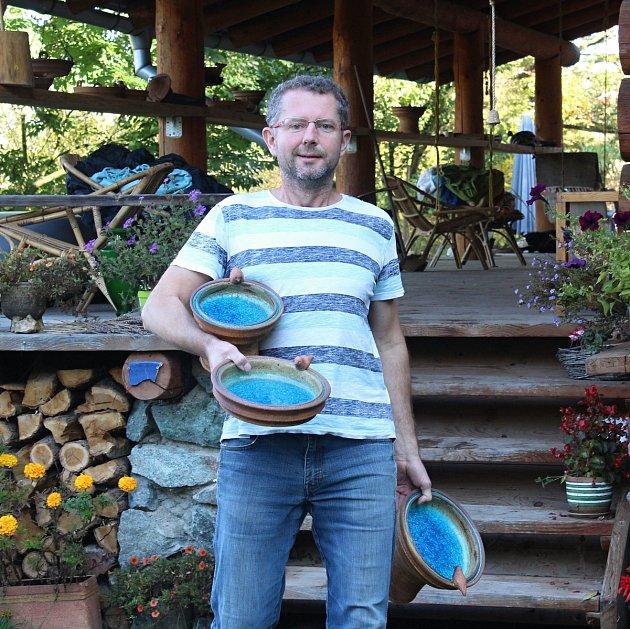 Keramik Zdeněk Dvořáček.
