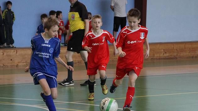 V blanenské sportovní hale se utkalo šest týmů fotbalových přípravek. Vyhrála Zbrojovka Brno, druhé byly Boskovice. Pořádající Blansko skončilo čtvrté.