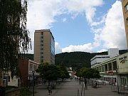 Wanklovo náměstí v Blansku - ilustrační foto.