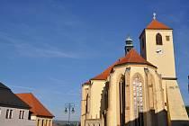 kostel svateho Jakuba Boskovice