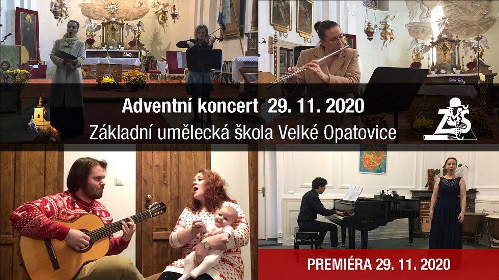 I přes řadu omezení si můžete adventní koncert vychutnat offine