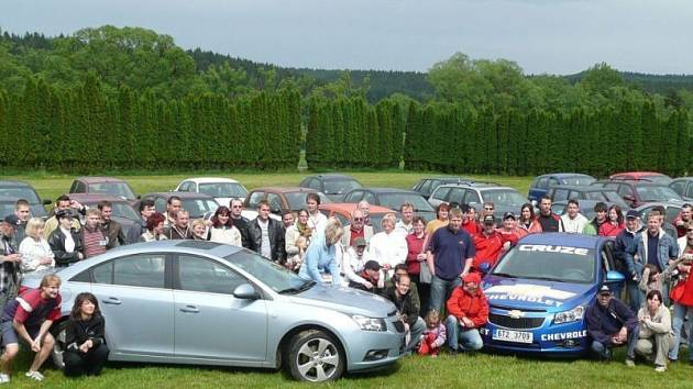 Už počtvrté se sešli na neformálním česko - sovenském setkání majitelé a příznivci vozů Daewo a Chevrolet.