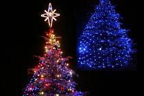 Vánoční strom Šebetov