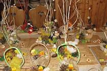 Od tohoto pátku až do neděle se v lipovecké sokolovně koná prodejní velikonoční výstava.