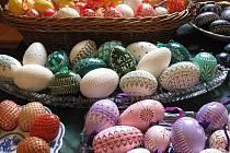 Velikonoční výstava v lipovecké sokolovně.
