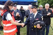 Okrouhlečtí dobrovolní hasiči o víkendu oslavili 120. výročí založení sboru.