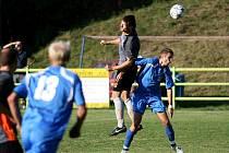 Fotbalisté Blanska remízovali s Vracovem 2:2.
