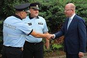Premiér Bohuslav Sobotka navštívil Blanensko. V Blansku jednal o přemostění. Navštívil firmy, setkal se také s hasiči, policisty a besedoval v domově důchodců.