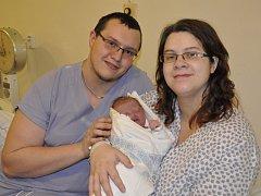 Krátce po půl druhé odpoledne se na Nový rok v boskovické nemocnici narodilo první letošní miminko na Blanensku. Je jím Petr Švarc rodičů Marie Štaudové a Petra Švarce z Olešnice.