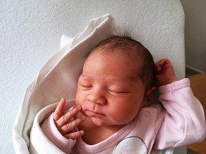 Adéla Siglová, 51 centimetrů, 3,61 kilogramu, 5. 2. 2018, Blansko