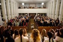Adventní koncert v evangelickém kostele.