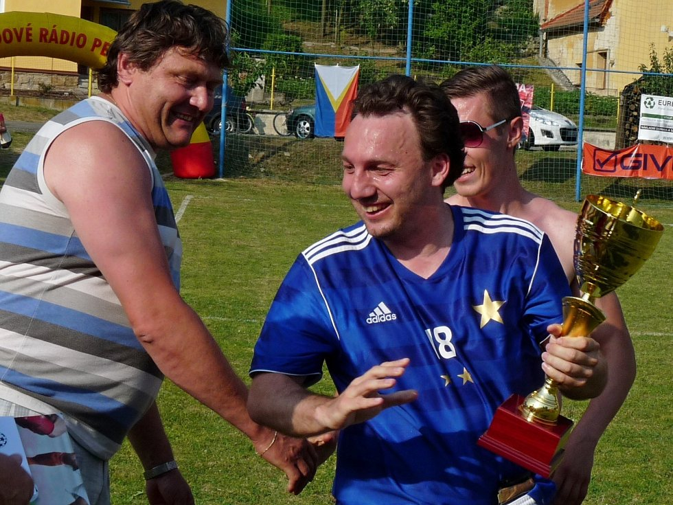 Finálový turnaj Okresního poháru v malé kopané hostilo Rozhraní.