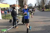 Vítěz Okresní běžecké ligy Tomáš Večeřa.