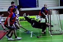 V Jedovnicích se hrálo krajské kolo středoškolského florbalu.