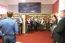 Knihovna ve Křtinách na Blanensku.