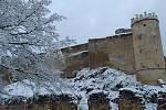 Ze zimní procházky v okolí boskovického hradu.  Foto: Milan Kužílek