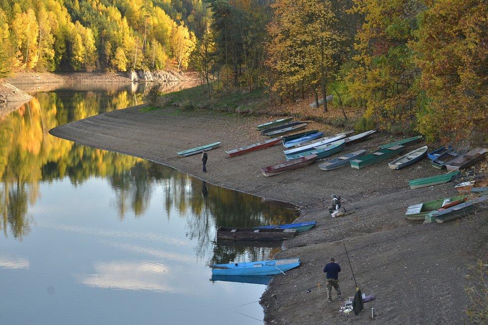 Vodní nádrž Letovice.