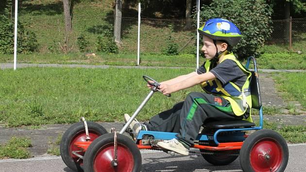 Dopravní hřiště v Blansku otevřeli dětem.