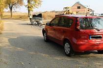 Namol opilý řidič zavinil nehodu na ulici Svatopluka Čecha v Boskovicích.