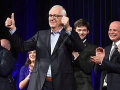 Kandidát na prezidenta Jiří Drahoš, který ve 2. kole volby prohrál s Milošem Zemanem