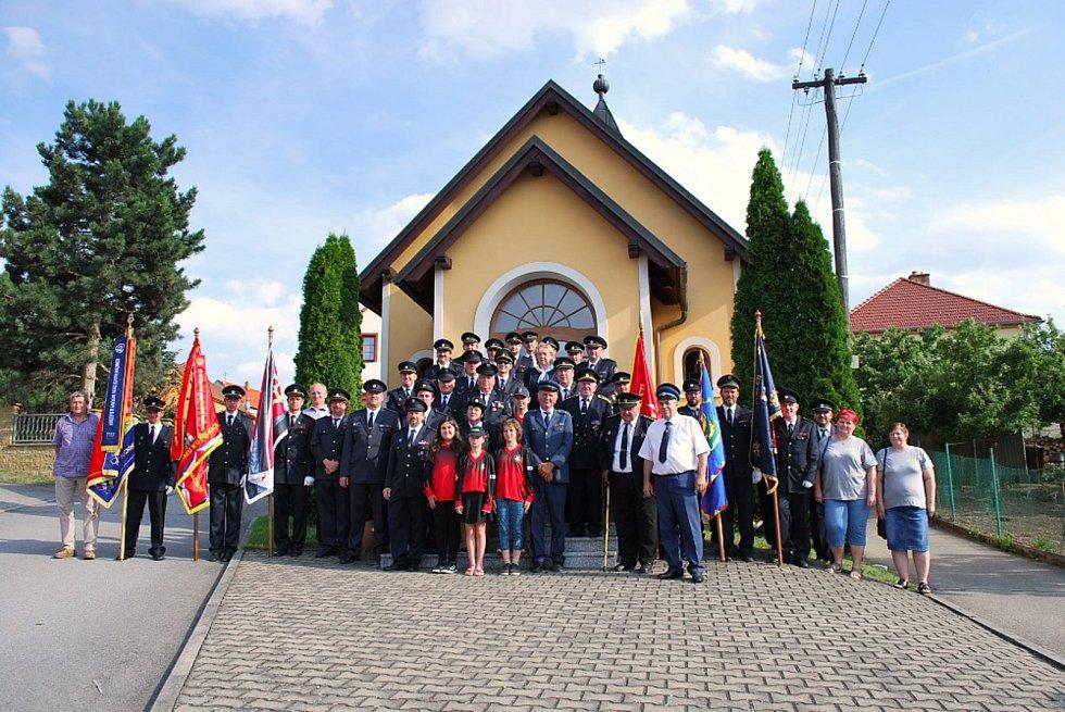 Hasiči z Valchova oslavili výročí.