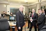 Prezident Miloš Zeman navštívil jižní Moravu.
