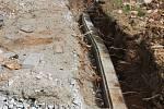 Stavební práce v Ostrově u Macochy potrvají do listopadu.