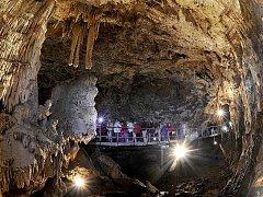 Punkevní jeskyně.