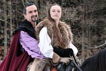 V kulisách Moravského krasu natáčela Česká televize naposledy pohádku Sněžný drak. Příběh vypráví o princezně a princi, kteří se vydají na nebezpečnou cestu, aby vzdorovali dávné kletbě.
