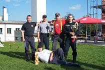 Vítězná pětice hasičů z Boskovic.