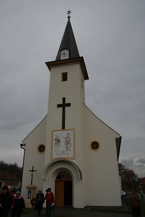 Kostel v Úsobrně.