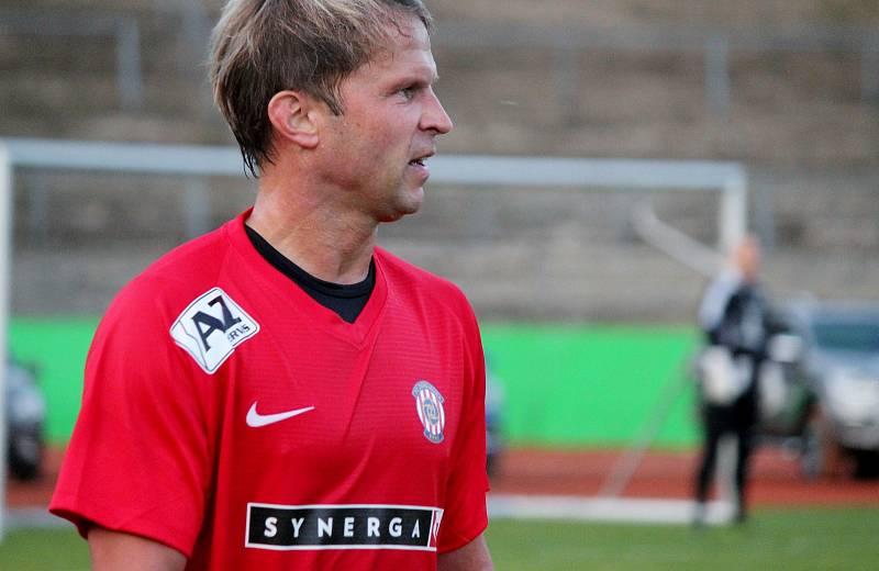 Patrik Siegl se vrátil i za Lužánky, kde se před několika lety utkaly legendy Zbrojovky Brno a Sigmy Olomouc.