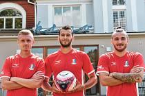 Blanenský klub představil novou druholigovou sadu dresů.